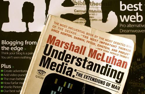 Marshall McLuhan understanding blogging