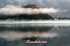 Bled Castle on Lake Bled (Euroshots) Tags: mist mountains castle castles church sunrise river nationalpark europe lakes lakedistrict churches slovenia bled mistymornings mountainlandscape lakebled mistymorning bledcastle bledchurch thisislove smokeonthewater spectacularscenery lonelyplaces lakesandmountains blejskojezero euroshots mistonthewater landscapesofmountains absolutelystunningscapes castlesinthemist europeanlandscape thisisslovenia slovenialandscape sloveniacastles slovenialakes sloveniachurches mountainhighlife churchesinthemist bledinthemist lakebledinthemist landscapesofeurope landscapesofslovenia sloveniaintheautumn bledintheautumn euroshot mountainsandlakeswithmistphotos bledsloveniamist bledcastleonthelake slovenialamdscape