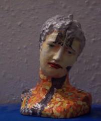 A HEAD OF HIS TIME (Narolc) Tags: sculpture art 3d acrylic fudge heads 3dart busts