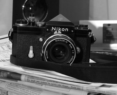 nikon f (Photo: G.M.Belli on Flickr)