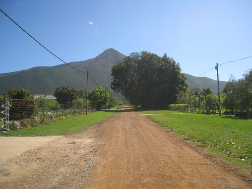 View of Tsitsikamma Mountain from Storms River