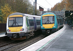 CrossCountry 170398 & 170117 - Birmingham (Neil Pulling) Tags: station birmingham westmidlands 170 birminghamuniversity bombardier turbostar class170 170398 crosscountrytrains 170117