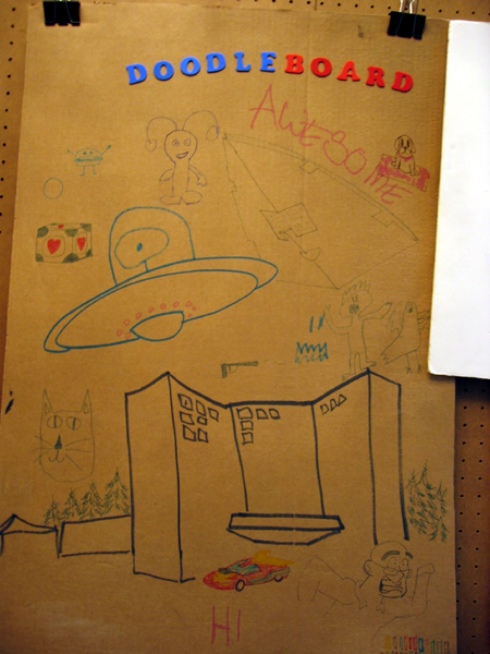 Doodle Board (Click to enlarge)