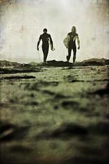 father&son (laatideon) Tags: sea texture surf bokeh overlay 5am etcetc dawny laatideon deonlategan remiandthomaspeterson semimono