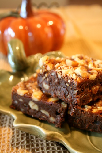 autumn salad, brownies 016