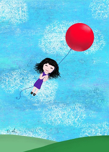 Illustration Friday: Balloon