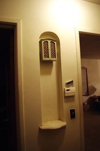 Doorbell/phone nook