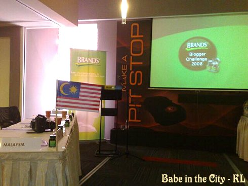 Team Malaysia seats