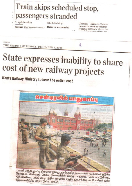 6.1.2.08-VIP train not stopping at station,Tamil Nadu Projects,