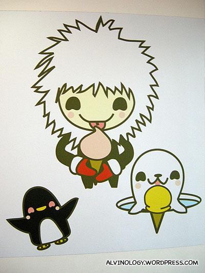 Kawaii mascots!