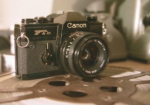 Canon FTb / Canon 50mm FD Lens