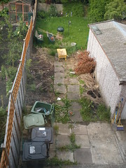 Patio - before it began
