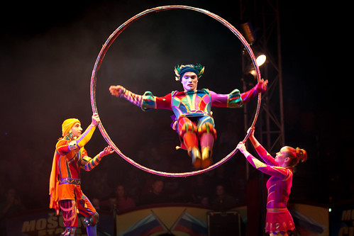 447/1000 - Moscow State Circus 23 by Mark Carline