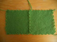 Geweven vierkantjes / Woven squares (evanstra) Tags: squares weaving loom weven vierkantjes weefraam