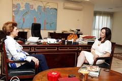 Συνάντηση με την Επίτροπο Ανδρούλα Βασιλείου
