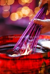Burning incense stick (diankarl (www.diankarlina.com)) Tags: red indonesia religious temple fire hands candles dof hand bokeh smoke religion praying culture belief flame jakarta sacred ritual tradition chineseculture incensestick incensesticks chinesetemples 10faves chinesetradition aplusphoto flickrchallengegroup flickrchallengewinner colourartaward friendlychallenges diankarl diankarlina wwwdiankarlinacom