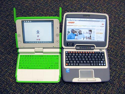 OLPC XO and Intel Classmate PC