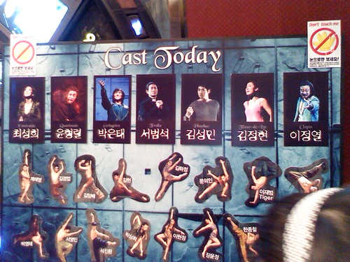 Casts for Musical Notre dame de Paris