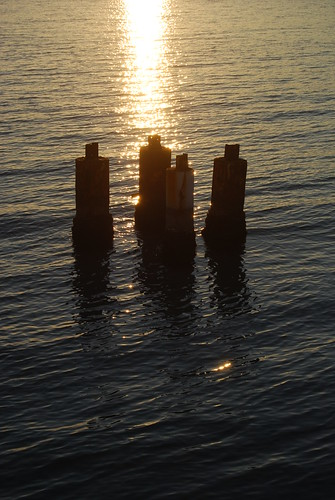 Sunset Pilings