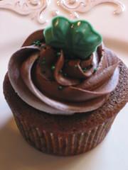 St Patricks Cupcake