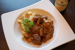 Guinness Stew and Mash
