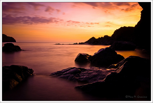 After Glow [at] Anawangin Cove by Marc Geronimo
