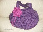 Fat Bag (*ZzabeLinha) Tags: crochet fatbag tectec trapilho
