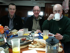 Big Breakfast, Michael, Kevin and Guy