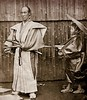 THE SAMURAI AND HIS ATTENDANT -- Life and Protocol in Old Japan