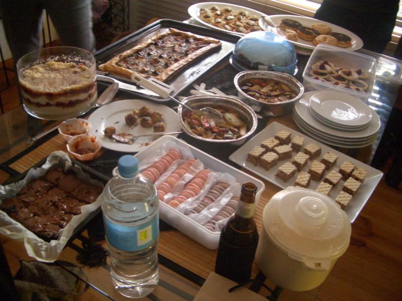 Bloggers Banquet spread