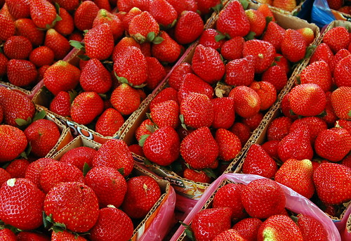 Strawberries (La Trinidad, Benguet)