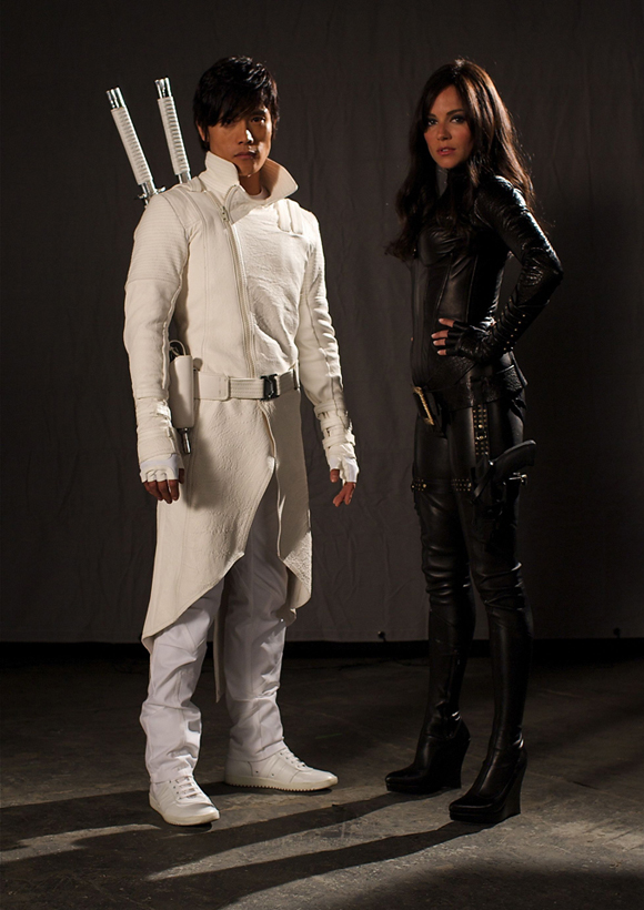 La Baronesa y Storm Shadow G.I. Joe: Rise of Cobra