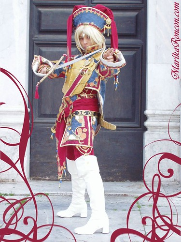 Trinity Blood Ion Fortuna Foto Cosplay