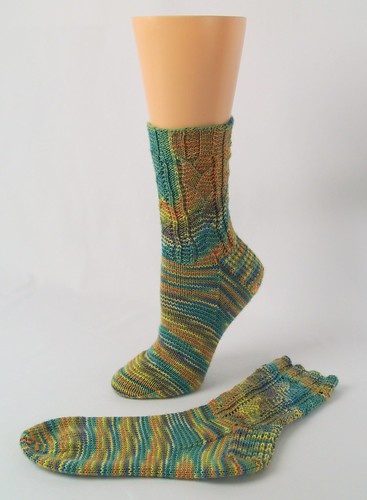 Sockdown: April socks