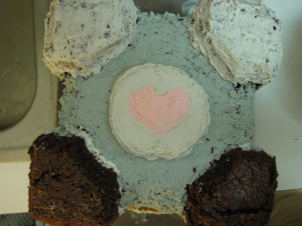 companion cube cake (31)