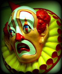 The Horror (Raquel Van Nice) Tags: clown elcerrito playland