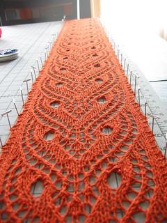 Ravelry Tiger Eye Lace Scarf Pattern By Toni M Maddox