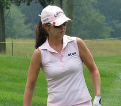 Very little in this world is as cute as Leta Lindley (dnkbdotcom) Tags: golf maryland 2008 lpga womensgolf professionalgolf bullerock letalindley 2008lpgachampionship 2008mcdonaldslpgachampionship