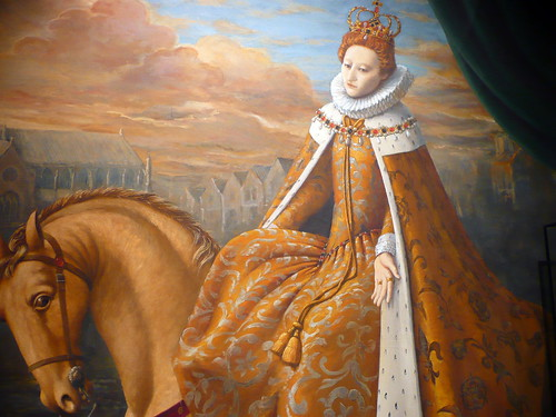 queen elizabeth 1. Portrait of Queen Elizabeth I,
