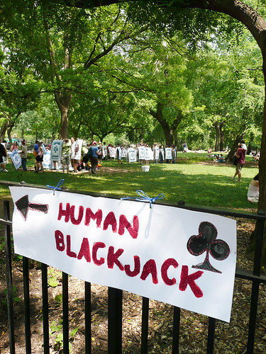 Human Blackjack