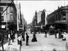 King Street, Sydney, looking east from George Street (Powerhouse Museum Collection) Tags: classic walking sydney signage shops historical daytime horsedrawn kingstreet carts powerhousemuseum kingst ragtime streetboys xmlns:dc=httppurlorgdcelements11 busycrossing henryking dc:identifier=httpwwwpowerhousemuseumcomcollectiondatabaseirn31768 warbysliverpoolarms lanebros historypin
