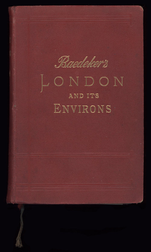 Baedeker's London [1911] cover