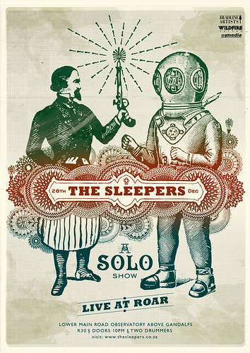 Sleepers-Solo-Show2 / Adam Hill