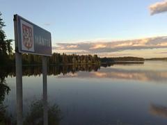 Matkalla jossain päin Suomea