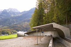 Knigssee Championship Bobsled/Luge/Skeleton track! (xoque) Tags: germany berchtesgaden bobsled knigssee