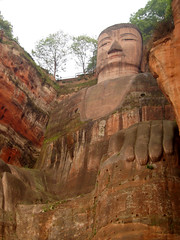 China Travel - Leshan Great Buddha, Sichuan  (Lao Wu Zei) Tags: china travel photos 100views favourite  sichuan