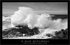 Winter Surf - Point Lobos (G Dan Mitchell) Tags: ocean california travel winter usa seascape nature water rock landscape monterey surf waves crash stock spray pacificocean foam punta peninsula lobos seashore pointlobos marinos induro goldenvisions gdanmitchell