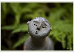 Kiss (Monika Ostermann) Tags: newzealand sculpture macro green nature skulptur grn makro platinumphoto