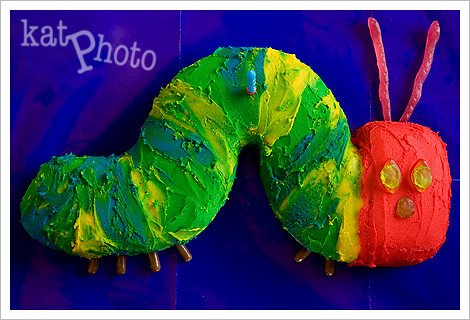 caterpillar cakes for kids. Hungry Caterpillar cake.