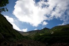 三峰山と川の字シュート